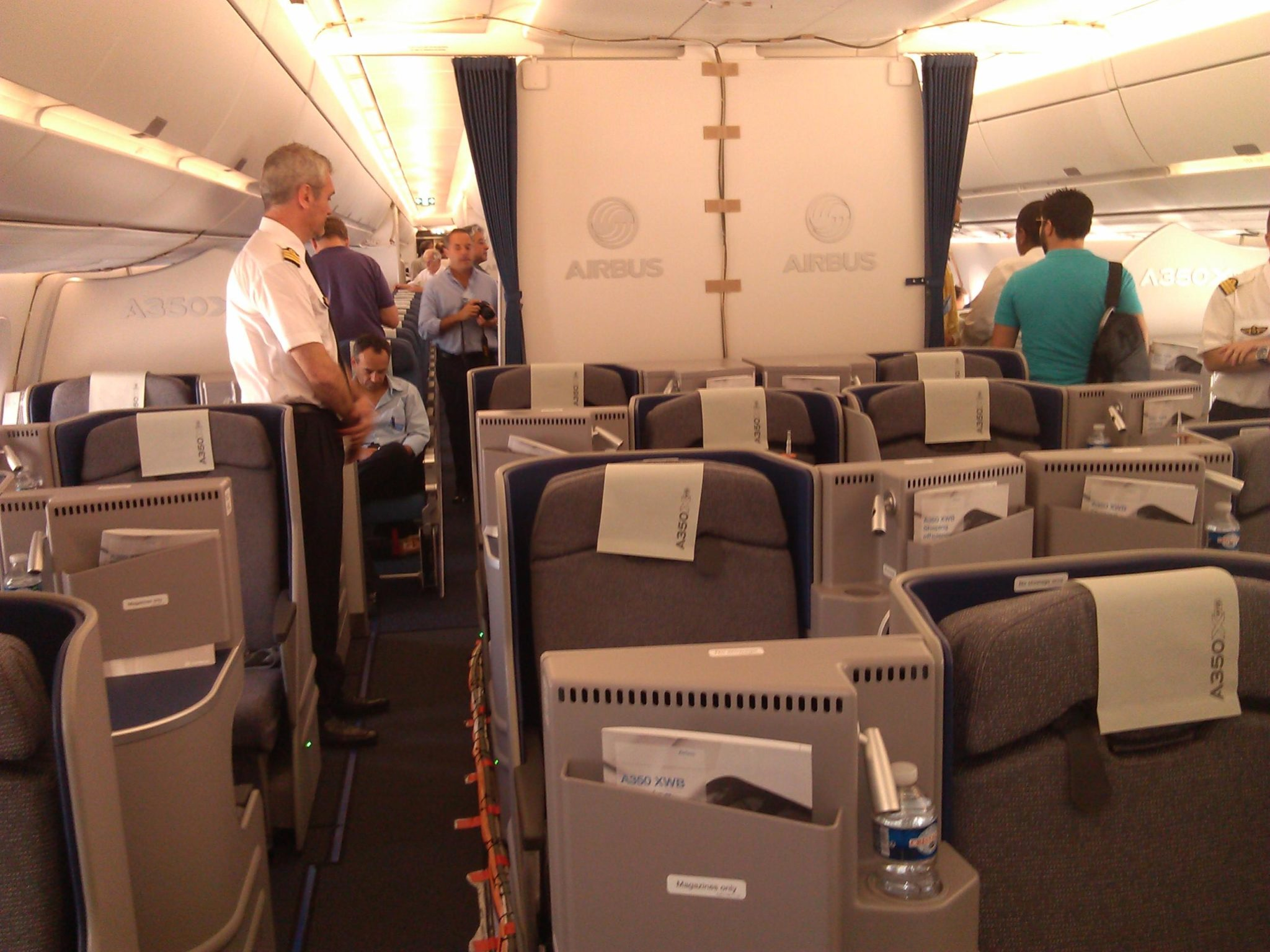 A350 Business Class; seats by Sogerma.
