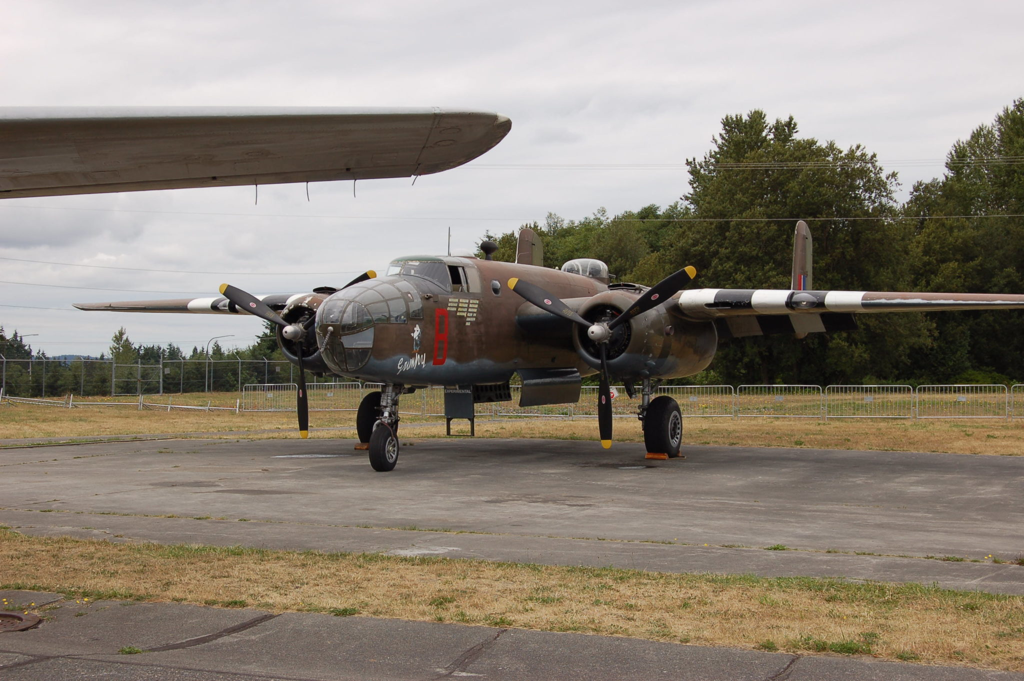 """North American B-25 """"Grump,"""" owned by the Historic Flight Foundation. Photo by Scott Hamilton."""