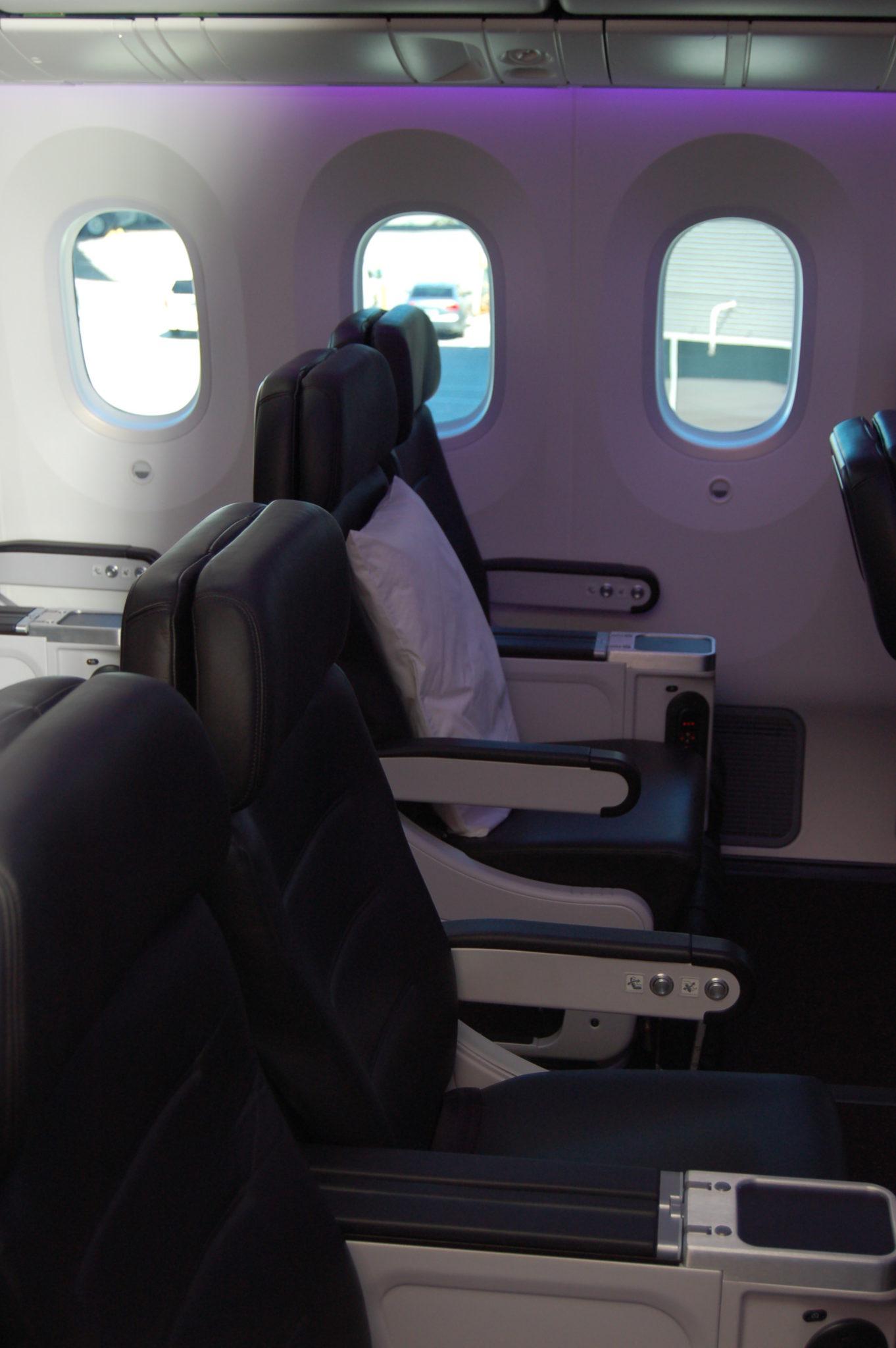 ANZ 787 interior