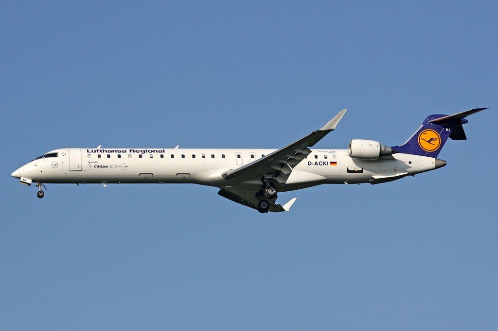 CRJ900 of Lufthansa Regional