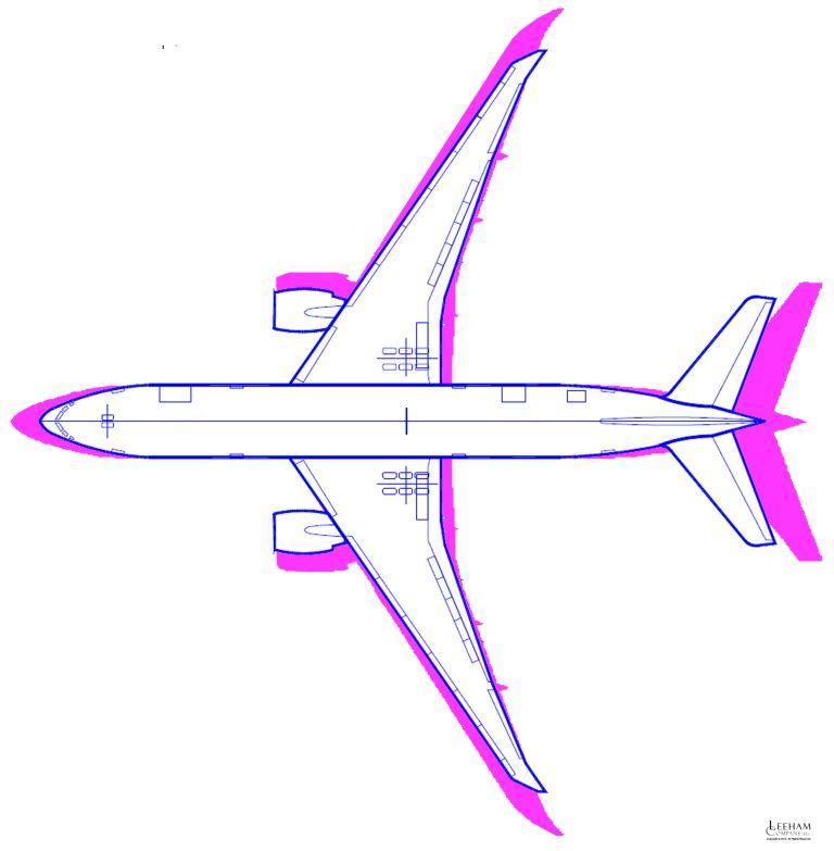 777-8X vs -200LR small