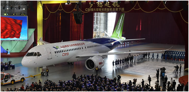 C919 roll out