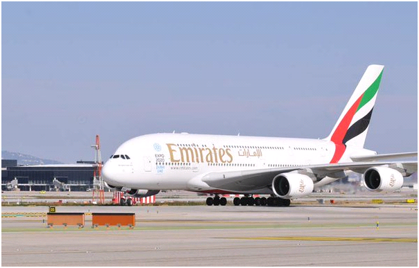 EK 615 seat A380