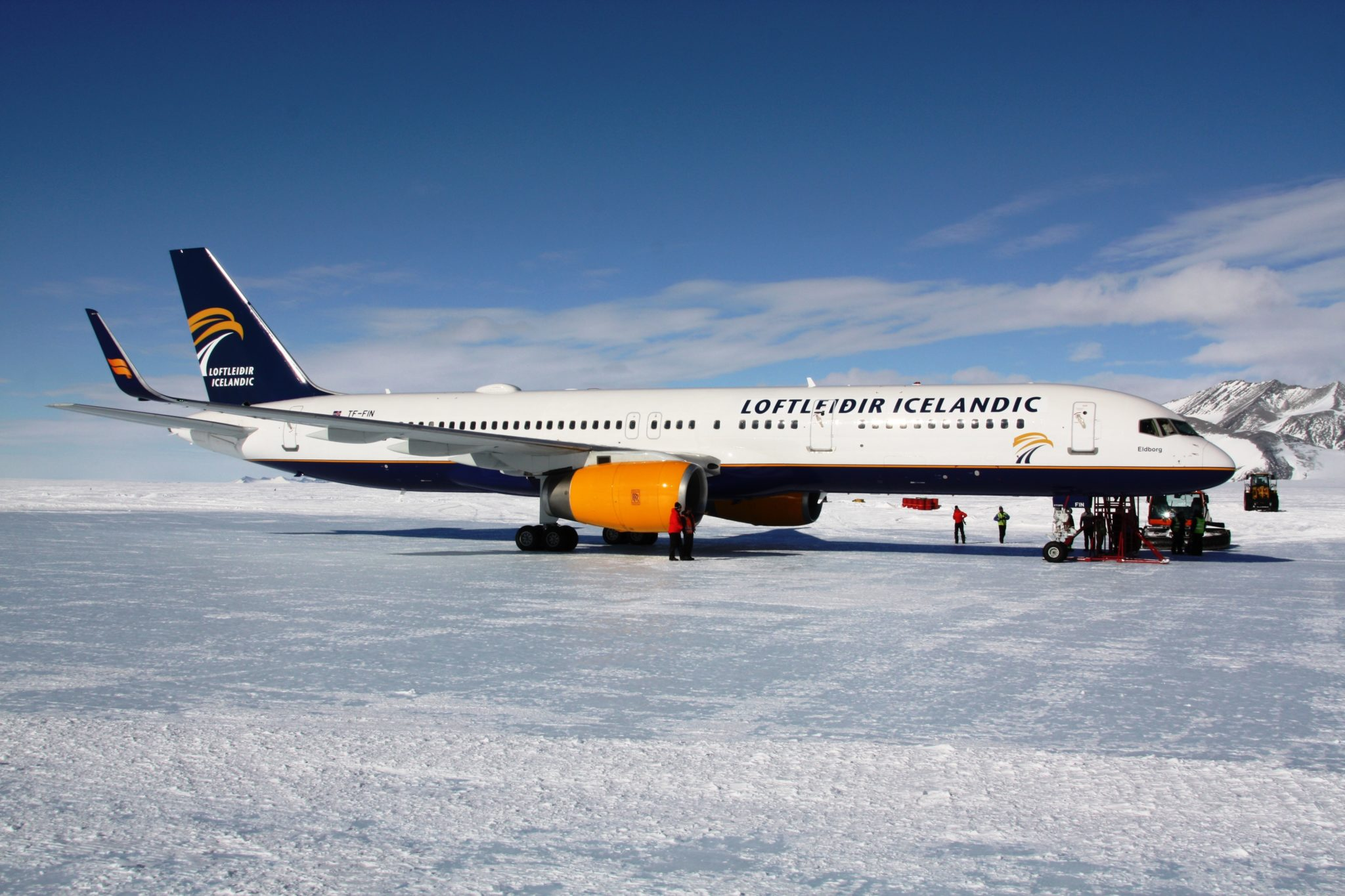 Icelandic becomes first regular airline to serve Antarctica