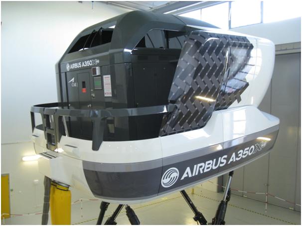 A350 simulator