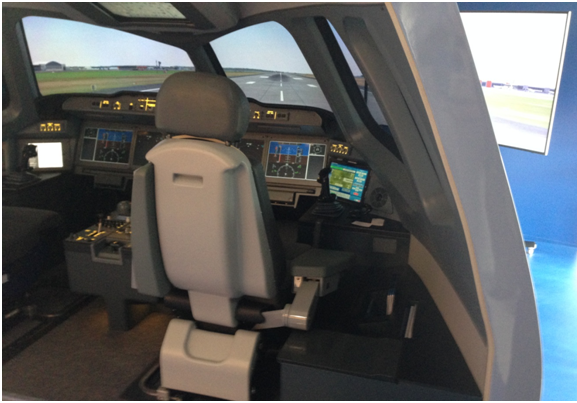 MC-21 simulator with lots of space