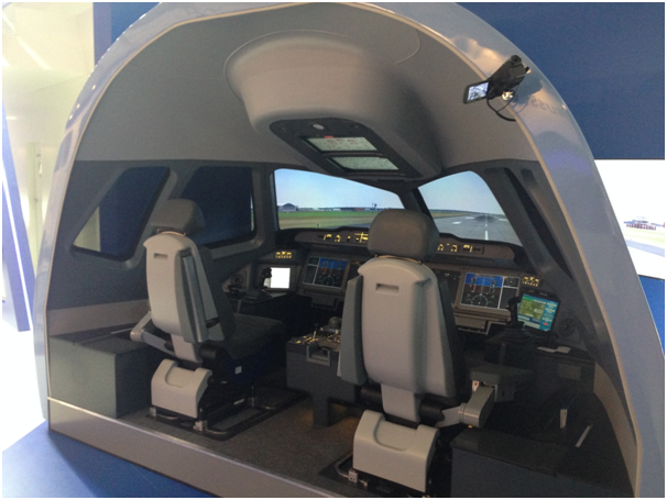 MC-21 simulator