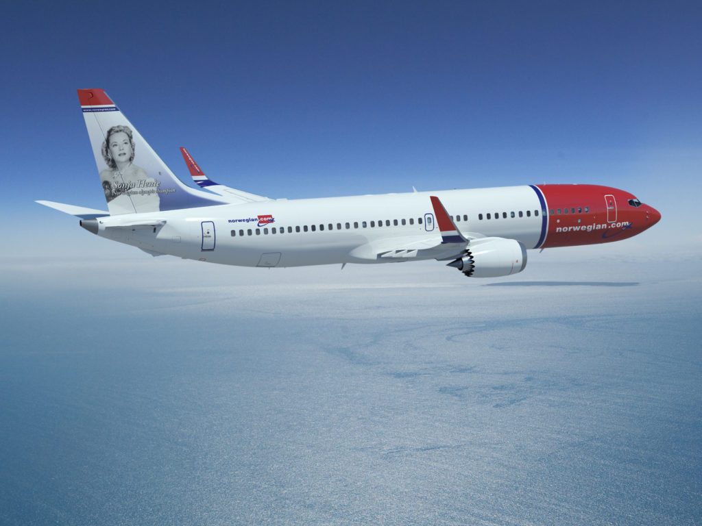 Norwegian NSB 737-MAX Rendering K65549