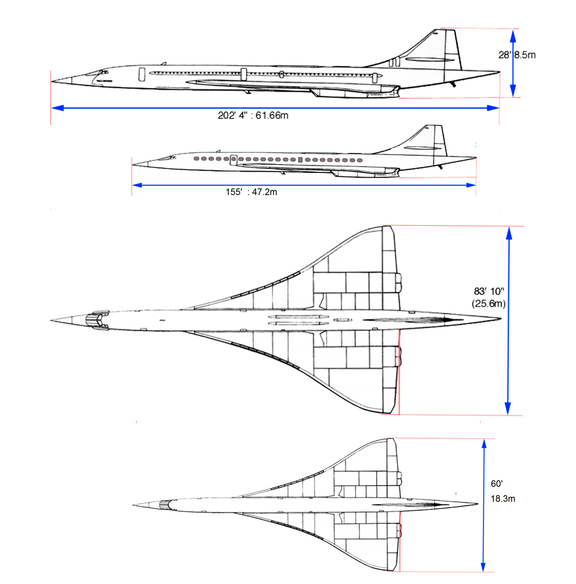 Will Boom Succeed Where Concorde Failed Leeham News And Comment 747 Jet Engine Diagram Turbojet Drawing 2016 11 16