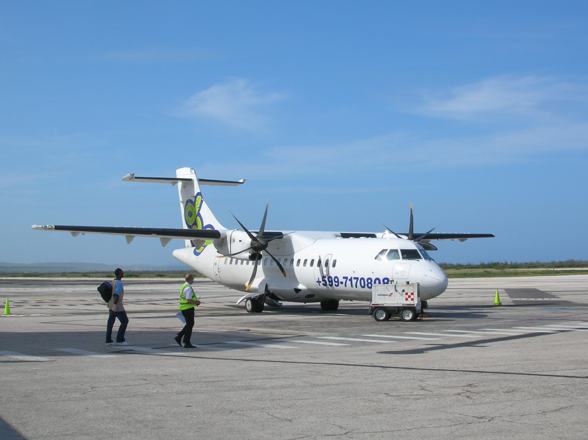 Figure 1. ATR42-600 serves as a template for our 50-seat regional  turboprop. Source: ATR.