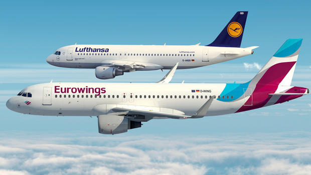 Lufthansa European Airlines