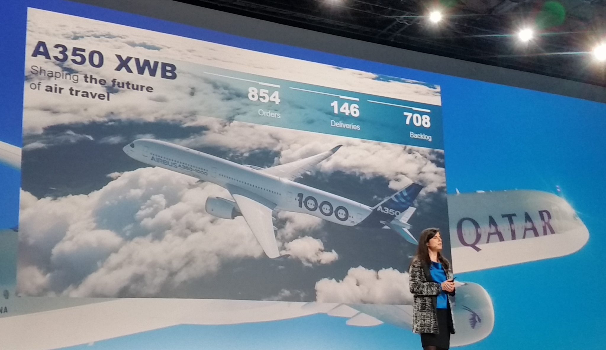 Airbus readies A350-1000 for delivery, dismisses Boeing 777-9