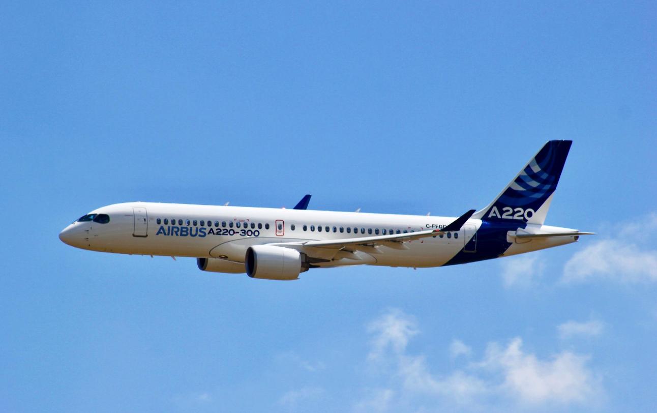 Airbus 320 - the leader of European passenger air traffic 76