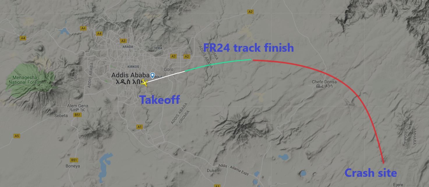 Bjorn's Corner: The Ethiopian Airline's Flight 302 crash - Leeham